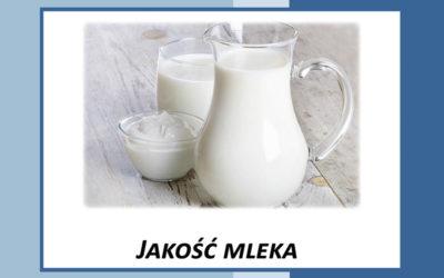 Jakość surowca – Informator dla dostawcy mleka
