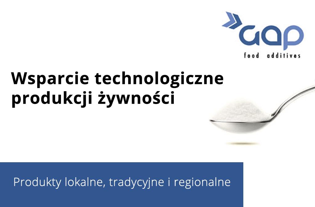 GAP POLAND wsparcia produkcję żywności tradycyjnej i regionalnej (informator)